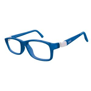 Nano NAO57744 Crew Kids Eyeglasses Blue Marine/White Eye Size 44-16
