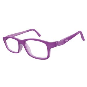 Nano NAO571044 Crew Kids Eyeglasses Matt Purple/Purple Eye Size 44-16