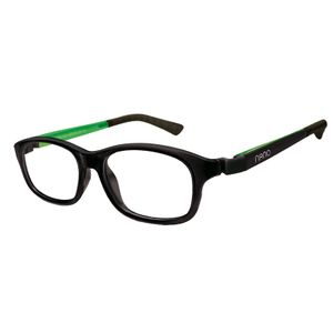 Nano NAO521246 Arcade Kids Eyeglasses Matt Black/Green Eye Size 46-17