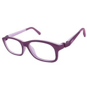 Nano NAO521046 Arcade Kids Eyeglasses Matt Purple/Violet Eye Size 46-17