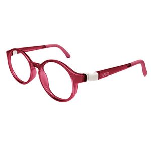 Nano NAO600344 Breakout Kids Eyeglasses Burgundy/White Eye Size 44-16