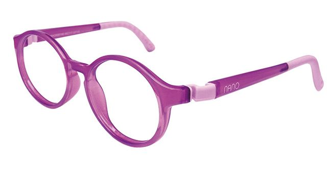 Nano NAO600146 Breakout Kids Eyeglasses Purple/Violet Eye Size 46-17