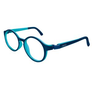Nano NAO600646 Breakout Kids Eyeglasses Matt Blue/Blue Eye Size 46-17
