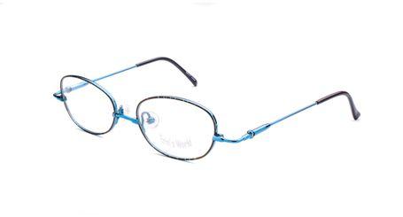 Specs4us EW 3 Kids Eyeglasses Blue Denim