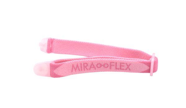 Miraflex Elastic Band  Eyeglasses EBBC Clear Pink