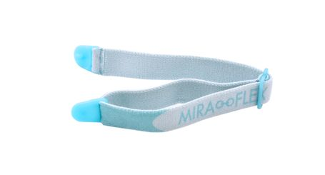 Miraflex Elastic Band  Eyeglasses EBE Light Blue