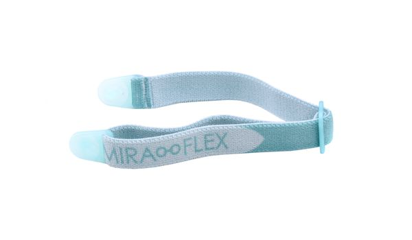 Miraflex Elastic Band  Eyeglasses EBEC Clear Blue