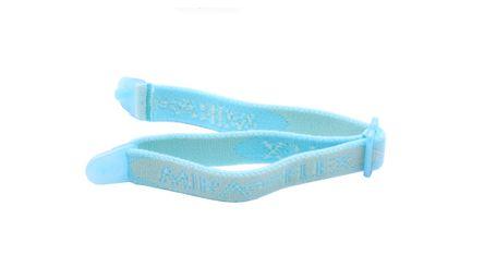 Miraflex Elastic Band  Eyeglasses EBEP Light Blue Pearl