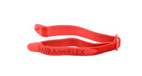 Miraflex Elastic Band  Eyeglasses EBI Red/Red Pearl