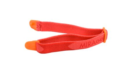 Miraflex Elastic Band  Eyeglasses EBIN Orange