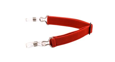 Leader Sport Bands Eyeglasses Holder Red