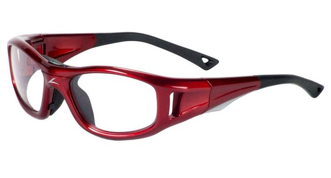 C2 Rx Hilco Leader Kids Sports Saftey Glasses 365303000  Red