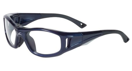 714fb62f7e3 C2 Rx Hilco Leader Kids Sports Safety Glasses 365304000 Navy C2 Rx ...