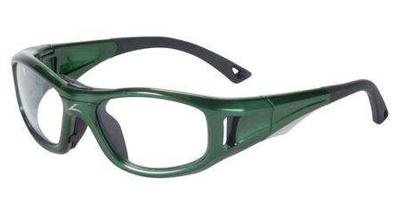 541643b185c4 C2 Rx Hilco Leader Kids Sports Safety Glasses 365305000 Green C2 Rx ...