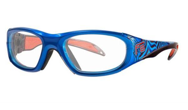 Liberty Sport Protective Rec Specs F8 Street Series Eyeglasses Electric Wave #646