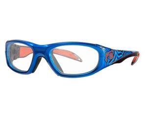Liberty Sport Protective Rec Specs F8 Street Series Eyeglasses Electric Wave #646