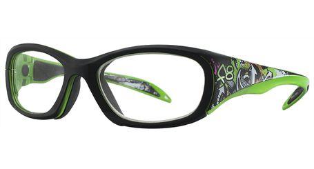 7793254773c Liberty Sport Rec Specs F8 Street Series Eyeglasses Neon Tag  245 F8 ...