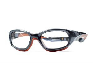 98fdd20352 Liberty Sport F8 Collection Slam Eyeglasses SGOR Shiny Grey Orange  324