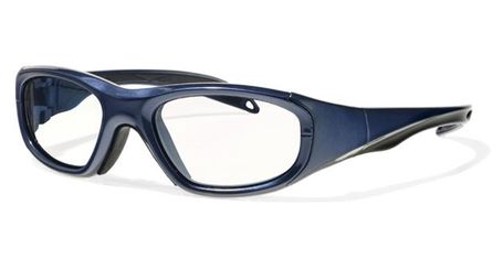 Liberty Sport F8 Collection Morpheus I Eyeglasses Shiny Navy Blue/Black Stripe  Stripe #1