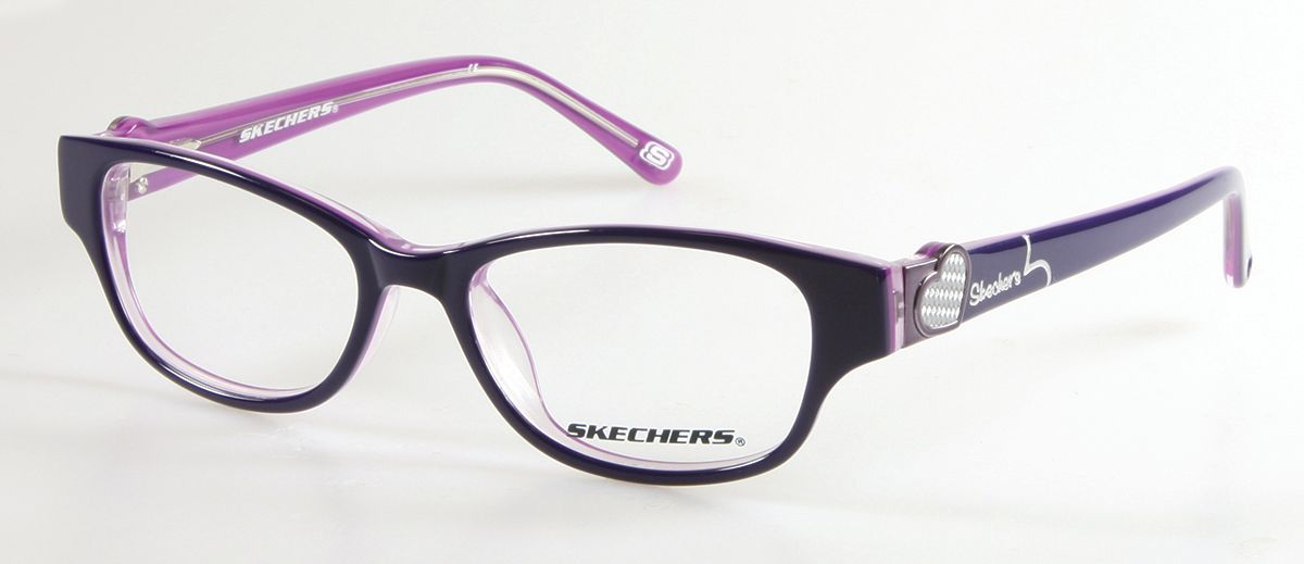 Skechers SK1524 Kids Glasses Purple SK1524 024 - Optiwow