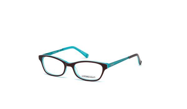 Skechers SK1623 Kids Glasses Shiny Dark Brown