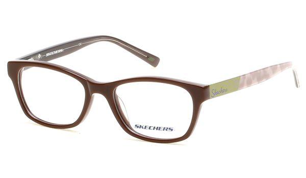 Skechers SK1602 Kids Glasses Shiny Dark Brown