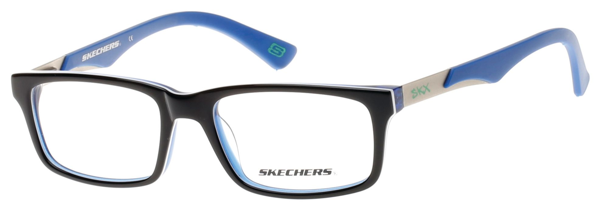Skechers SK1095 Kids Glasses Shiny Blue SK1095 090 - Optiwow