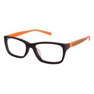 Crocs JR031 Kids Eyeglasses Brown/Orange