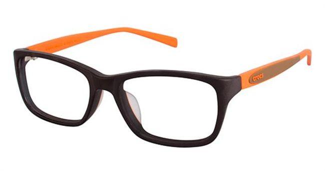 Crocs JR031 Kids Eyeglasses Brown/Orange