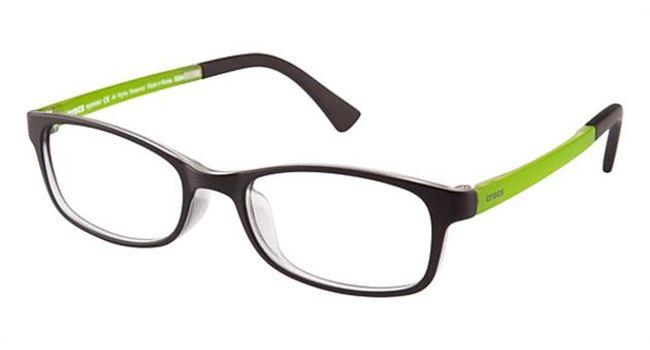 Crocs JR036 Kids Eyeglasses Black/Green 20GN