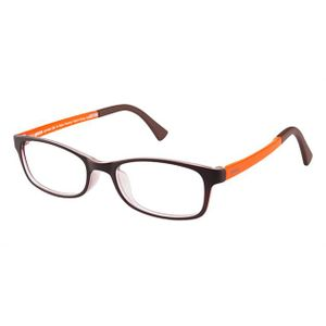 Crocs JR036 Kids Eyeglasses Brown/Orange 40OE