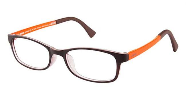 Crocs JR036 Kids Eyeglasses Brown/Orange 40OE