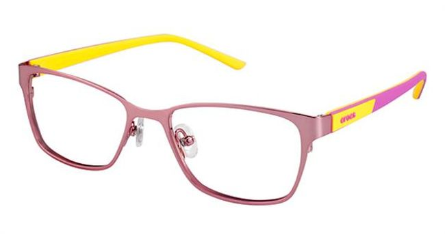 Crocs JR040 Kids Eyeglasses Pink/Yellow
