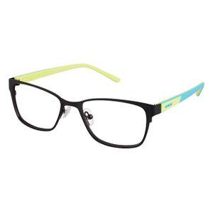 Crocs JR040 Kids Eyeglasses Black/Turquoise/Yellow 20LE