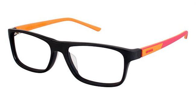 Crocs JR048 Kids Eyeglasses Black/Red 20OE