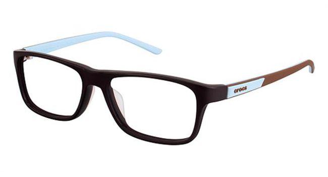 Crocs JR048 Kids Eyeglasses Brown/Blue
