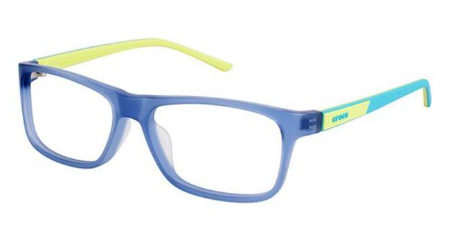 Crocs JR048 Kids Eyeglasses Blue/Yellow 50LE