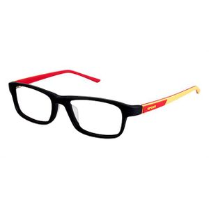 Crocs JR049 Kids Eyeglasses Black/Red 20RD