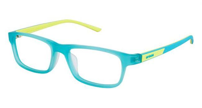Crocs JR049 Kids Eyeglasses Turquoise/Yellow 30GN
