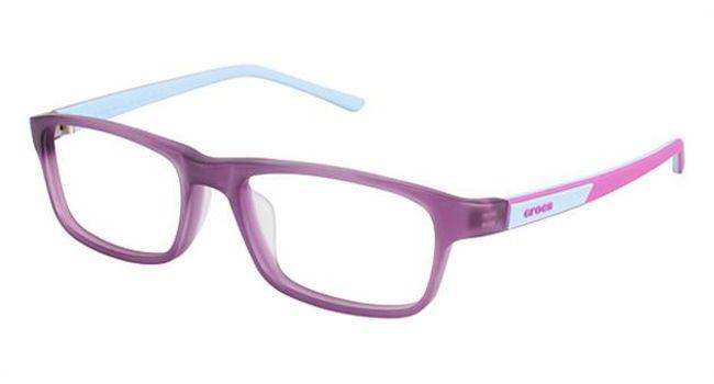 Crocs JR049 Kids Eyeglasses Purple/Blue