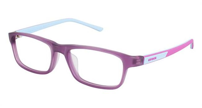 Crocs JR049 Kids Eyeglasses Purple/Blue 35BE