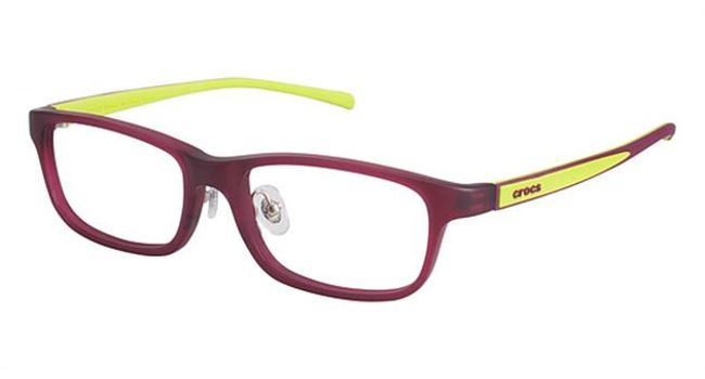 Crocs JR055 Kids Eyeglasses Red/Green 15GN
