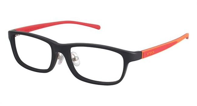 Crocs JR055 Kids Eyeglasses Black/Red 20RD