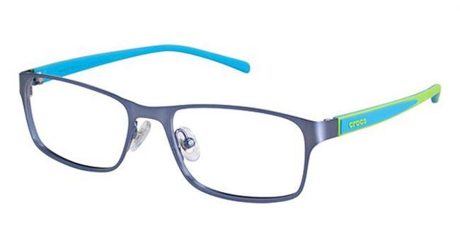 Crocs JR058 Kids Eyeglasses Blue/Green