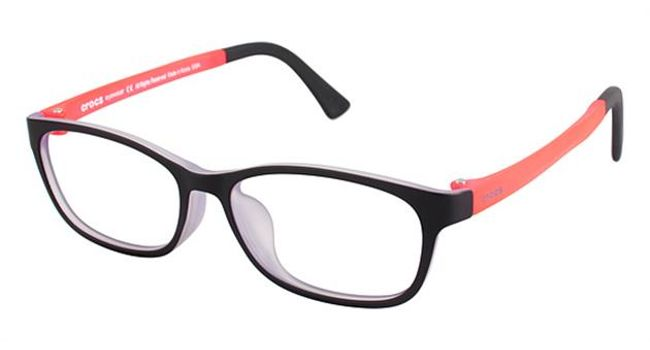 Crocs JR6005 Kids Eyeglasses Black/Pink