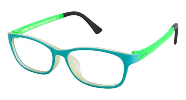 Crocs JR6005 Kids Eyeglasses Turquoise/Green