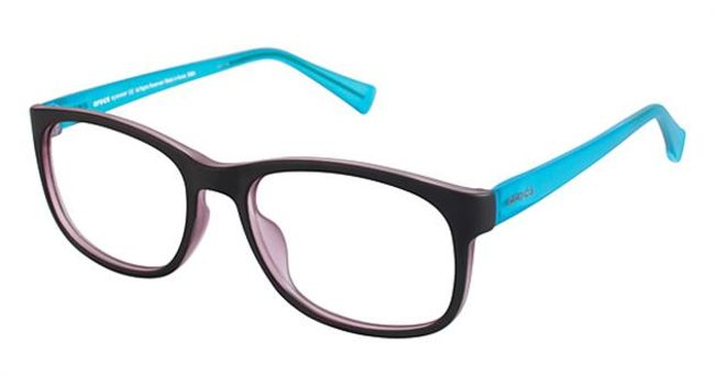 Crocs JR6006 Kids Eyeglasses Brown/Turquoise