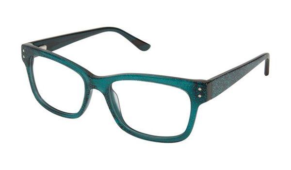 gx by Gwen Stefani Juniors GX804  Kids Glasses Green Glitter GRN