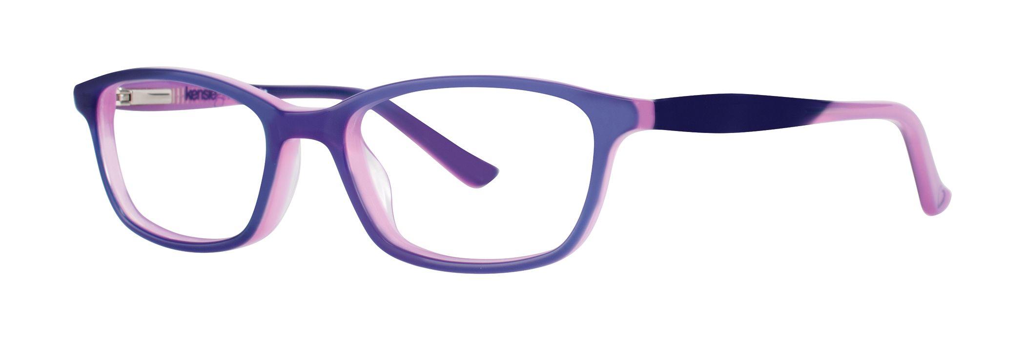 Kensie Girl Surprise Eyeglasses Purple Surprise PU - Optiwow