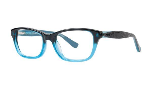 Kensie Girl Daring Eyeglasses Black